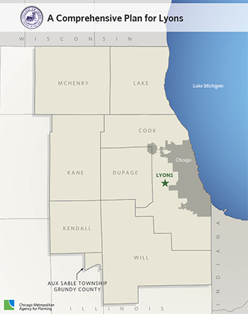 Lyons Illinois Map.Lyons Cmap
