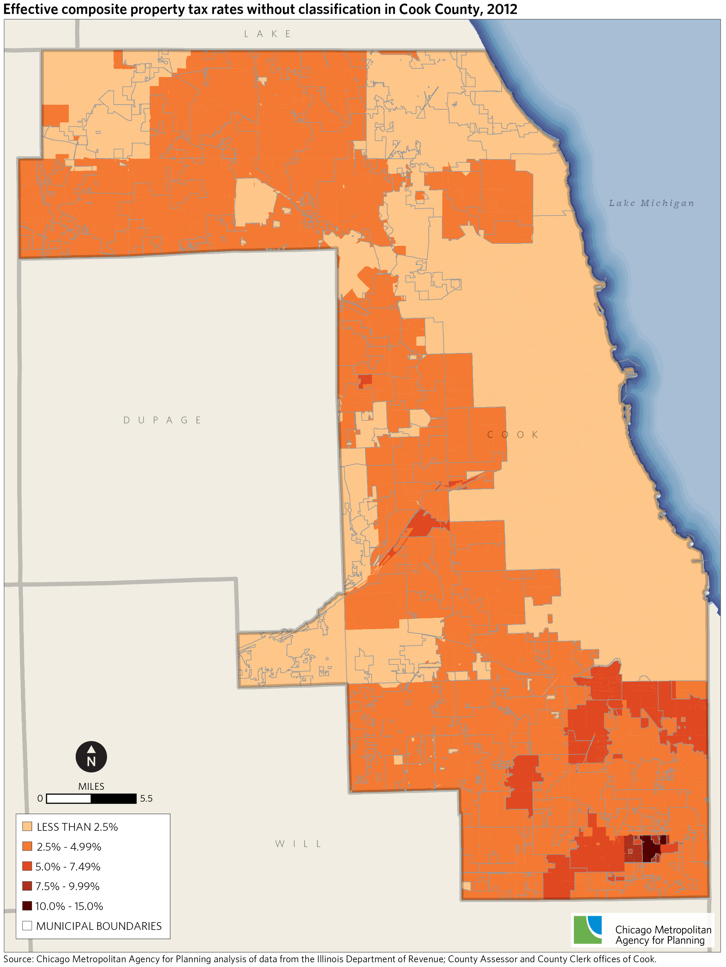 Cook County property tax classification effects on property ...