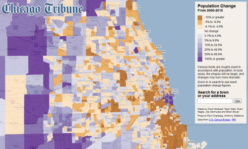 New Interactive Map With Census Data Updates CMAP - Interactive map us census
