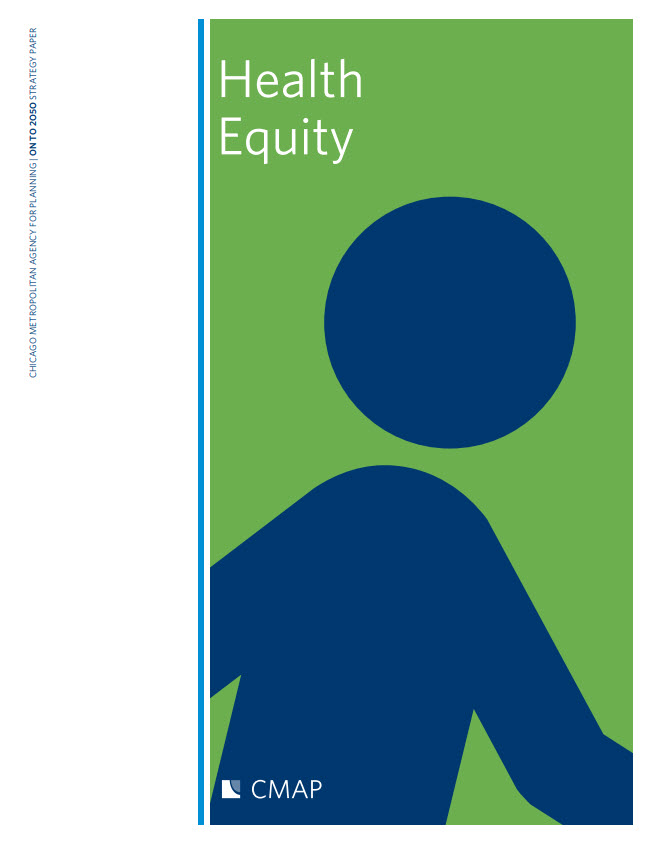 Cover of the health equity strategy paper
