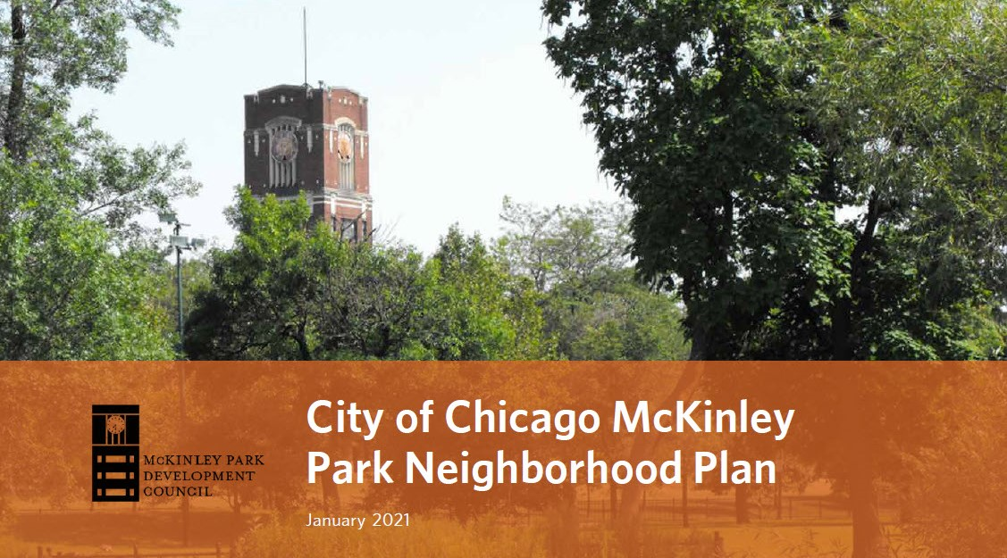 McKinley Park plan cover