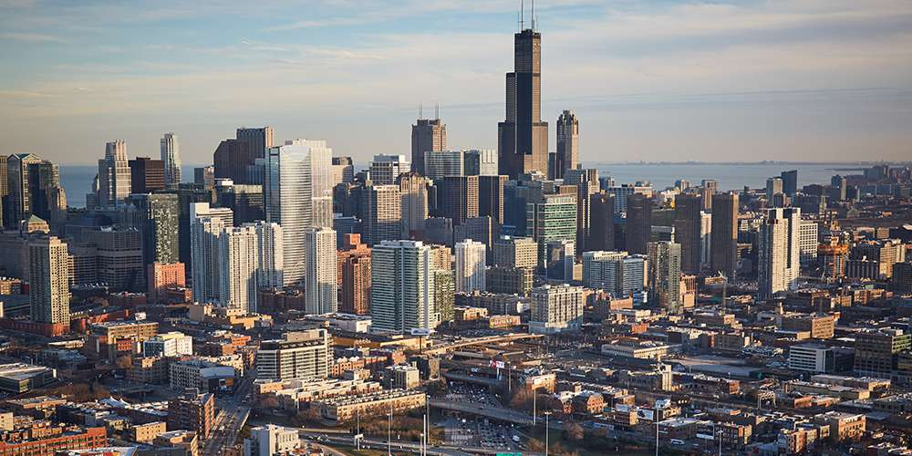 Image of downtown Chicago.