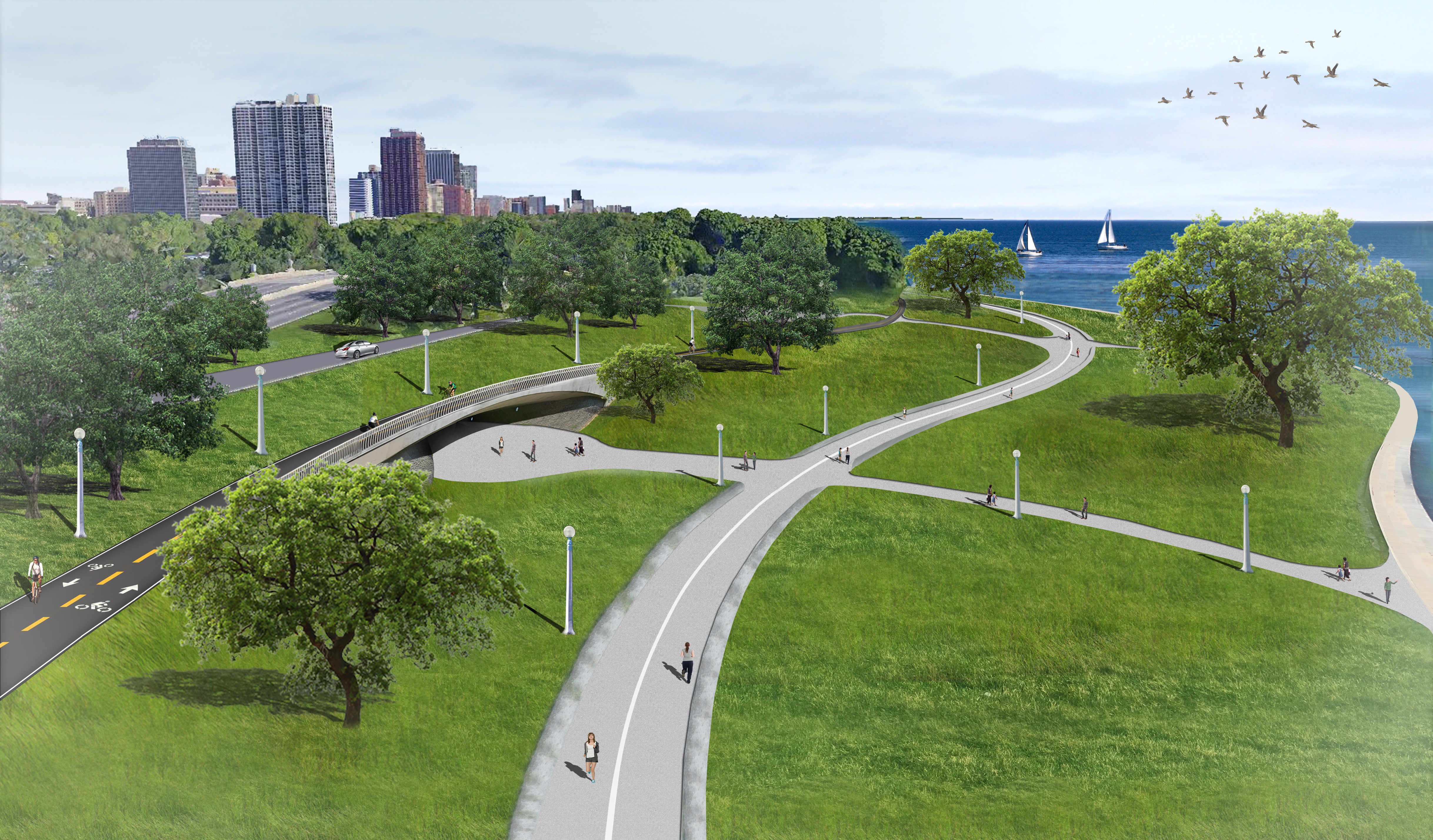 Image of Lake Shore Drive project.