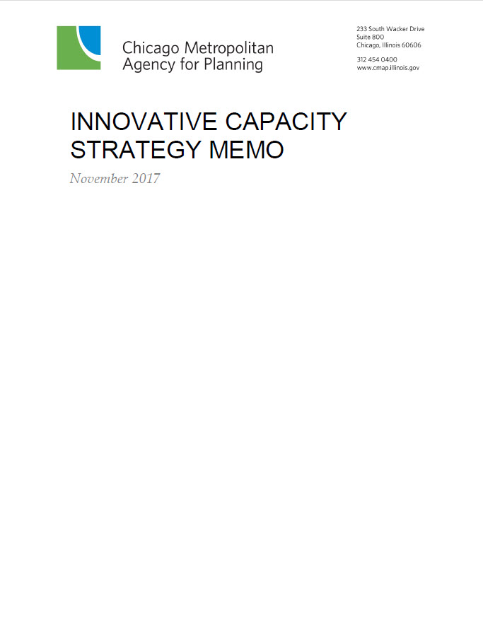 Cover of Innovative Capacity Strategy Memo report