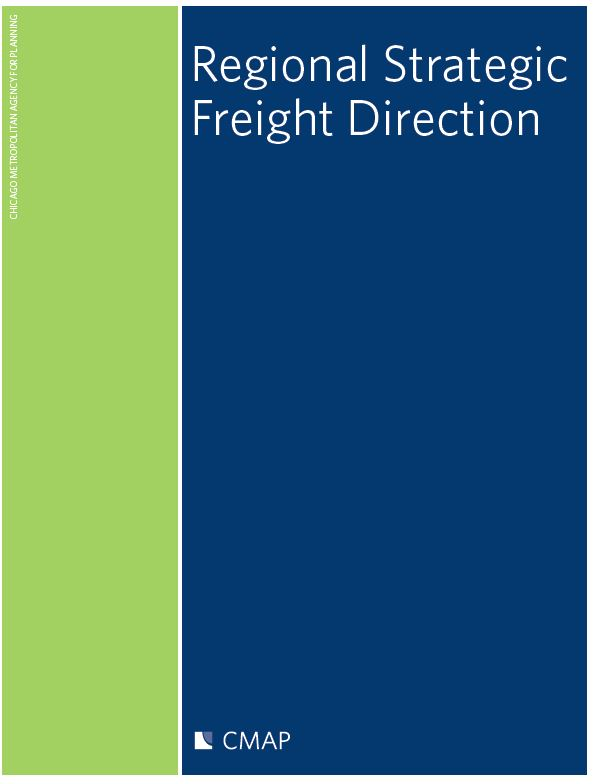 Cover of Regional Strategic Freight Direction report