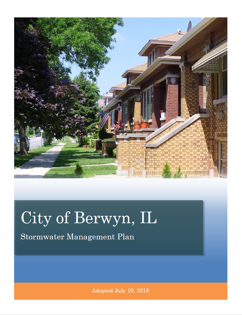 Berwyn Stormwater Management Plan cover page